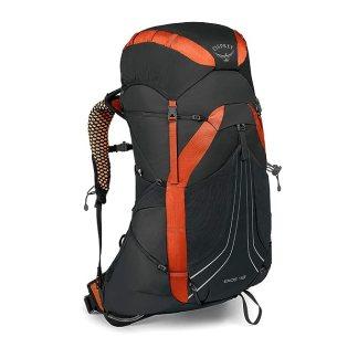 Osprey Packs Exos 48 Backpacking Pack, Blaze Black, Medium