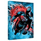Superman Super Cosmos Stretched Canvas Framed Artwrap, 20x30