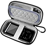 MP3 & MP4 Player Case for SOULCKER/G.G.Martinsen/Grtdhx/iPod Nano/Sandisk Music Player/Sony NW-A45 /B Walkman and Other Music Players with Bluetooth. Fit for Earbuds, USB Cable, Memory Card