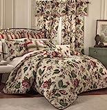Waverly 4-Piece Laurel Springs Comforter Set, Queen