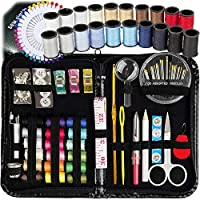 SEW SIMPLY #1 BEST CHOICE DIY SEWING KIT ON AMAZON! Why choose the SEW SIMPLY brand? Because we think differently, we know what you really need!!  Here are the benefits   ★ #1 MOST WIDE-RANGING KIT ON AMAZON! - We have made sure to include all the...