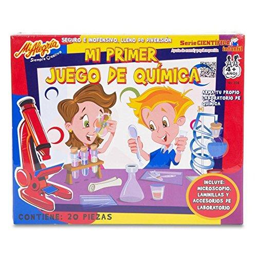 Mi primer juego de química Mi alegría