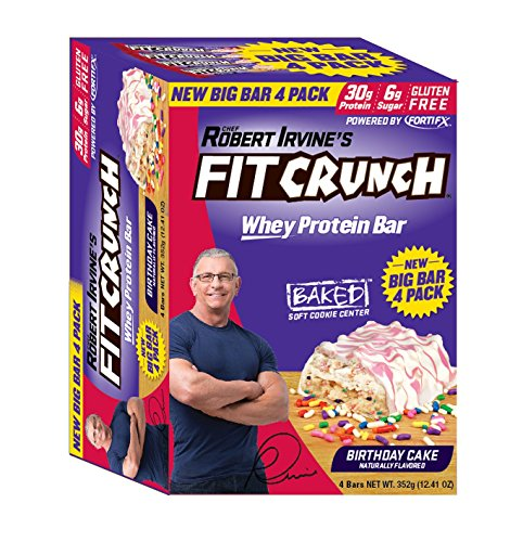 Id Actually Recommend The Robert Irvine Fitcrunch Birthday Cake