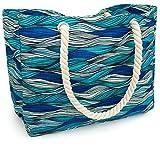 Kauai Beach Bag, Waterproof Canvas Beach Tote - Best Beach Bags For...