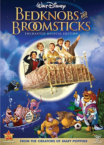 image result for bedknobs and broomsticks - Top Halloween Kids Movies