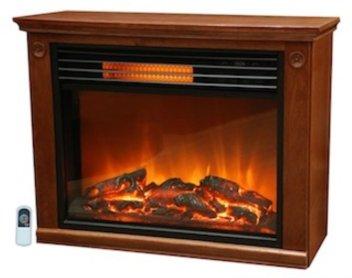 LifeSmart Large Room Infrared Quartz FireplaceBlack Friday Deals