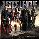 The Justice League (Movie) Wall Calendar(Spanish Edition )