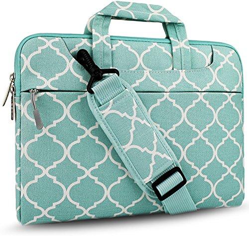 Hseok Laptop Shoulder Bag 12.9 iPad Pro/13.3 Inch MacBook Air/Pro, Green