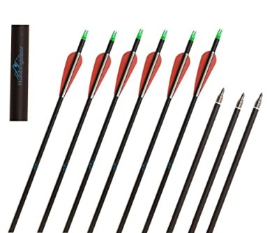 Huntingdoor or Carbon Arrows with Field Points