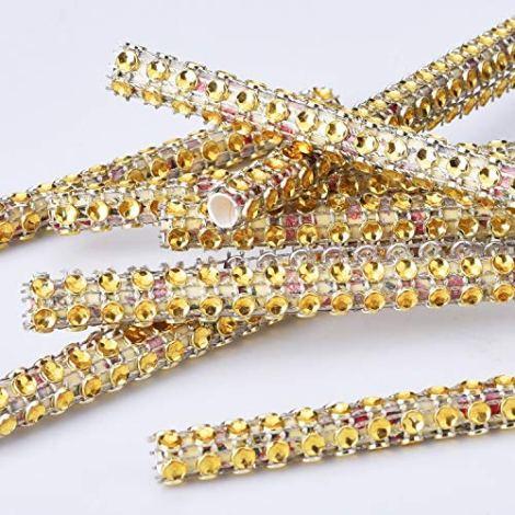 Rotoli Acrilico Strass Diamante Nastro