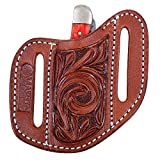 Product review for SMALL CLASSIC EQUINE LEATHER FLORAL TOOLED ANGLED KNIFE SCABBARD COVER VINE