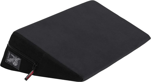 Liberator Wedge Intimate Sex Positioning Pillow, Black Microfiber,24 inch
