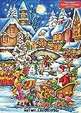 Santa's Here Chocolate Advent Calendar 2.65 oz (75 g)