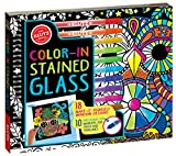 Klutz Color-in Stained Glass: 18 Make-it-Yourself Window Designs