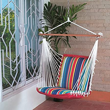 Hangit Soft Multi-color Hammock swinging chair (polyester)