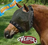 Product review for Weaver Fly Mask Without Ears - Size:Large Color:Black