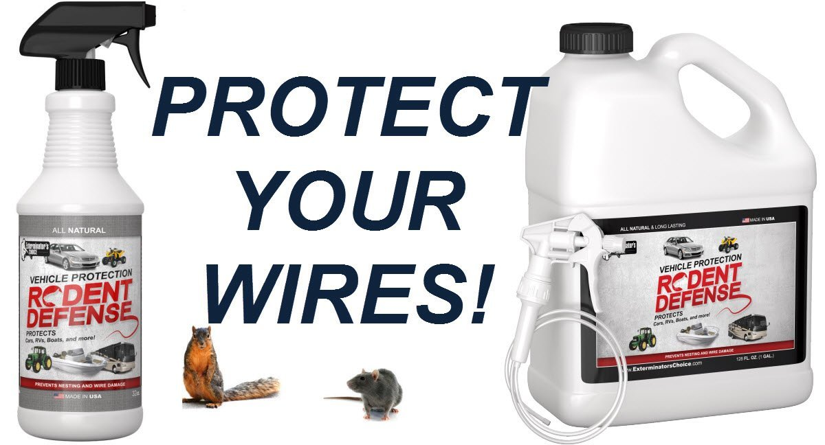 Exterminators Choice Rodent Defense Vehicle Protection