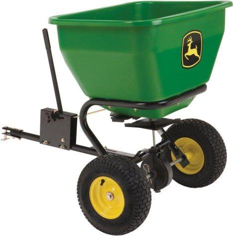 best tow behind fertilizer spreader