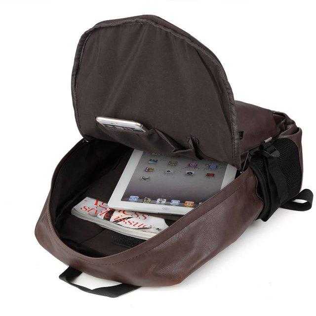 Mi mochila clásica y viajera marca Koolertron comprada por Amazon Imanes y Postales