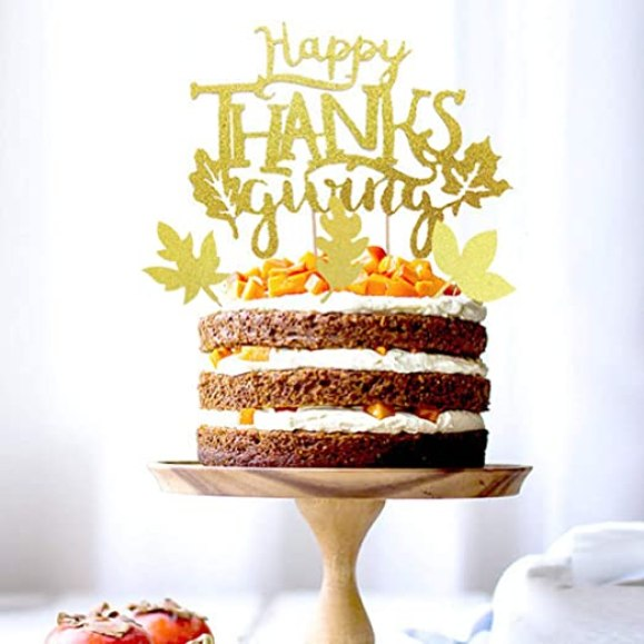 Resultado de imagen para thanksgiving cake topper