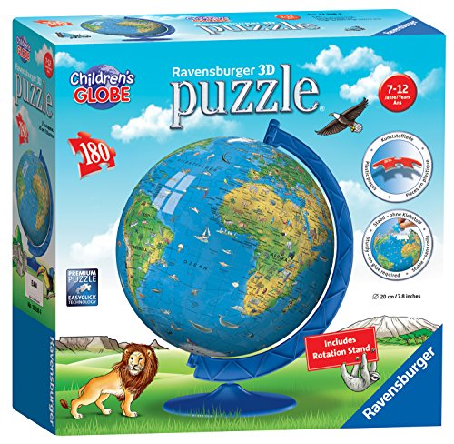 Ravensburger Children's World Globe 180...