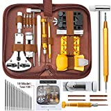 Watch Repair Tools Kits, Kingsdun Upgraded Version 149pcs Watches Battery Replacement Watchband Link Remover Spring Bar Tool Kit with Carrying Case and Instruction Manual