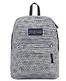 JanSport SuperBreak Backpack (White Urban Optical)
