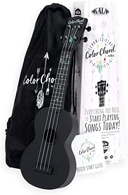 Amazon.com: Official Kala Learn To Play Color Chord Ukulele ...