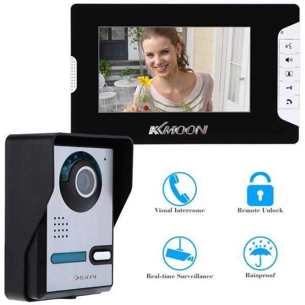 KKMOON 7 INCH HOME SECURITY VIDEO INTERCOM SYSTEM