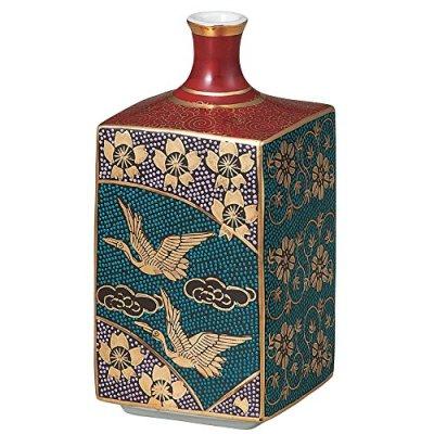 Kutani Yaki(ware) Vase Sakura Gold