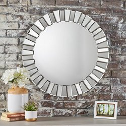 Christopher Knight Home Harlow Star Wall Mirror, Clear