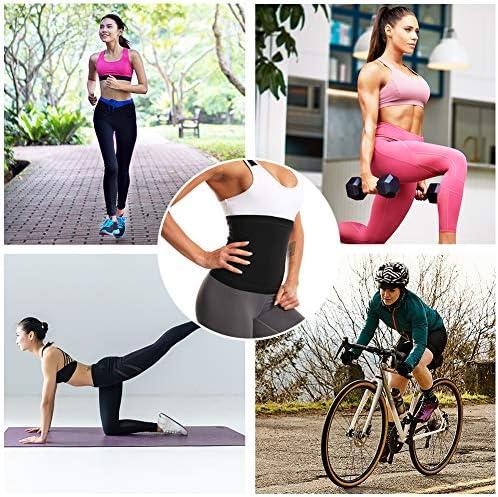 Nigecue Waist Trimmer for Women, Waist Trainer Sweat Workout Shaper, Sauna Belt 7