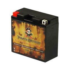 Chrome Battery 14B-BS AGM Battery