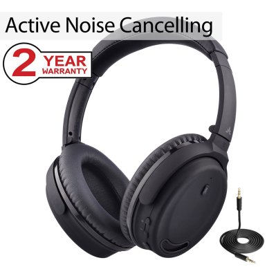 Avantree Active Noise Cancelling Bluetooth 4.1 Headphones Black Friday deal 2019