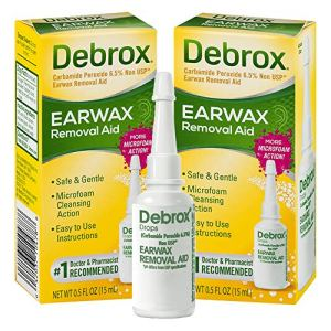 Debrox Earwax Removal Drops Earwax, 0.5oz, Pack of 2 61Hw1US780L