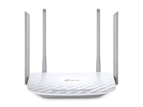 TP-Link WIFI 無線LAN ルーター 11ac/n/a/b/g デュアルバンド(867 + 300Mbps) 4本外部アンテナ 3年保証 Archer C50