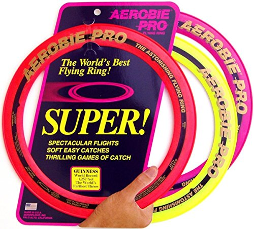 Aerobie Pro Ring Outdoor Flying Disc - Colors May Vary