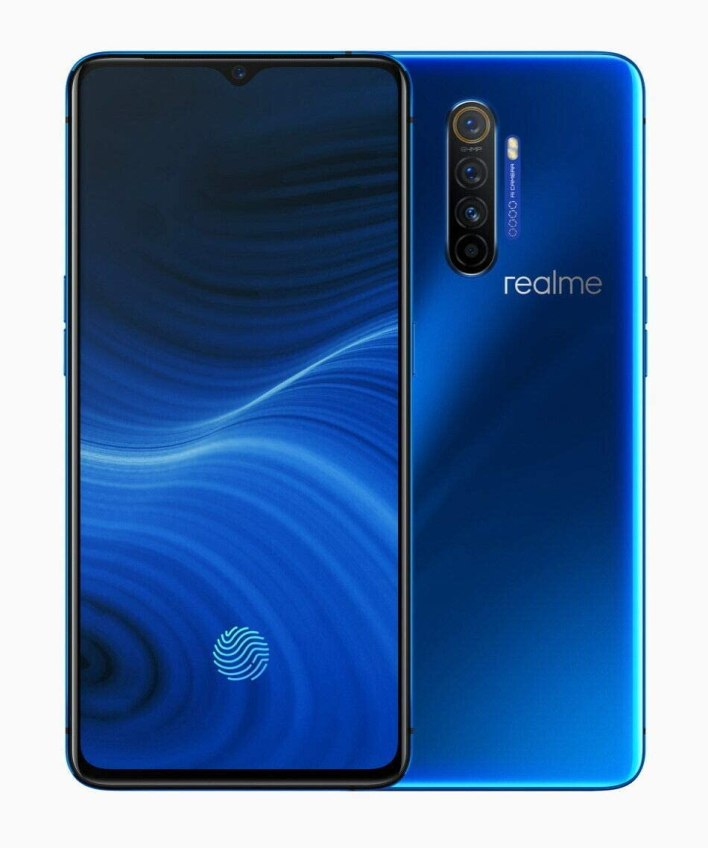 "Realme X2 Pro 6.5"" 128GB 8GB RAM (GSM Only, No CDMA) Factory Unlocked International Version - No Warranty (Neptune Blue)"