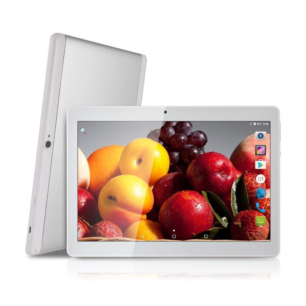 Στα 68€ με Android Tablet 10 » Quad-core processor 4GB of RAM and 64GB of Memory Tablet PC WiFi GPS Camera and Dual SIM Card Slots Internet 3G