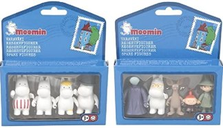 Amazon.com: One Set of 4+5 Moomin Animation Plastic Figures Toys Collection  by Moomin Characters TM (Finland): Toys & Games