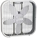Holmes HBF2010AWM 20' White 3 Speed Box Fan