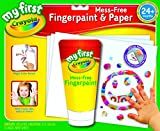 Crayola; My First Crayola; Mess-Free Fingerpaint and Paper; Art Tools; 16 Pages and Brush; The Paint is in the Paper