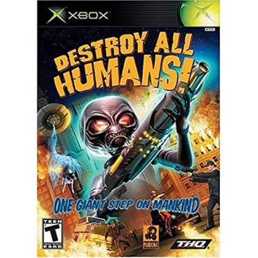 Amazon.com: Destroy All Humans - Xbox: Artist Not Provided: Video ...