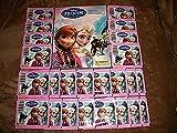 Frozen PANINI Disney Sticker Album W/10 Stickers Plus 24 Sealed Packs