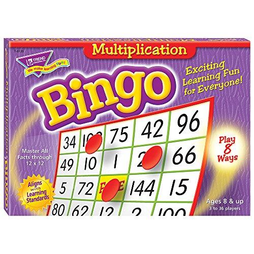 Multiplication Bingo Game