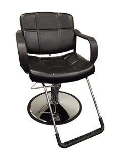 """20"""" Wide Hydraulic Barber Chair DS-5001W"""