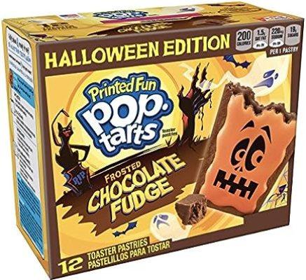 Image result for chocolate fudge halloween pop tarts