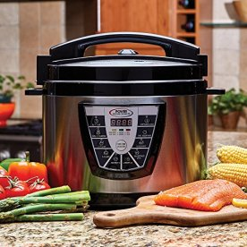 Power-Pressure-Cooker-XL-XL-10-Quart-Electric-Pressure-Slow-Rice-Cooker-Steamer-More-7-One-Touch-Programs-StainlessBlack