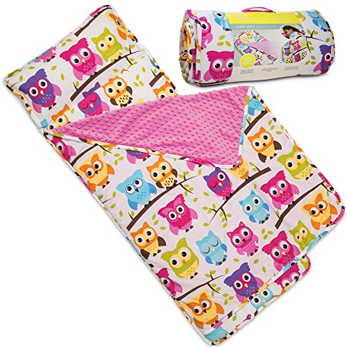Kids Nap Mat with Removable Pillow