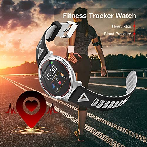 Smart Watch for iOS Android Phones, AIVEILE 2020 Version Activity Fitness Tracker Bluetooth Bracelet Waterproof Smartwatch with Blood Pressure Monitor Compatible Samsung iPhone for Men Women Kids 8